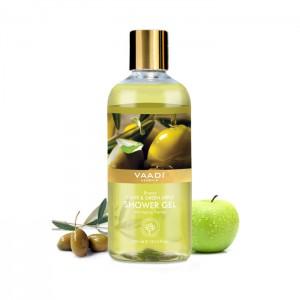 breezy-olive-green-apple-shower-gel